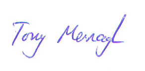 Tony Mernagh Signature